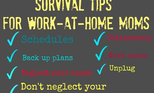 My 7 Tips For Work At Home Moms (Learned the Hard Way)