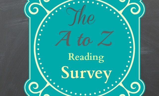 This Is What I Read: The A To Z Survey