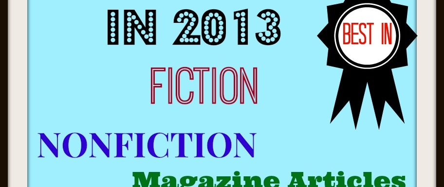It's Another Best of 2013 List: A Year of Reading Favorites